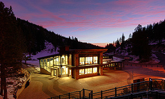 Diamond Peak Ski Resort Skier Services Building