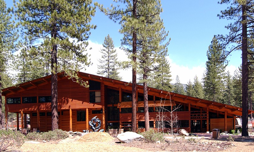 Sierra Nevada College Prim Library United Construction