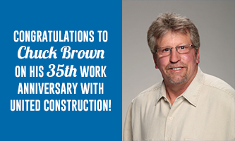 Congratulations Chuck Brown