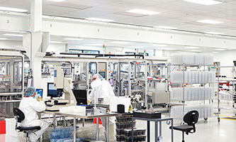 Hamilton Manufacturing Clean Room