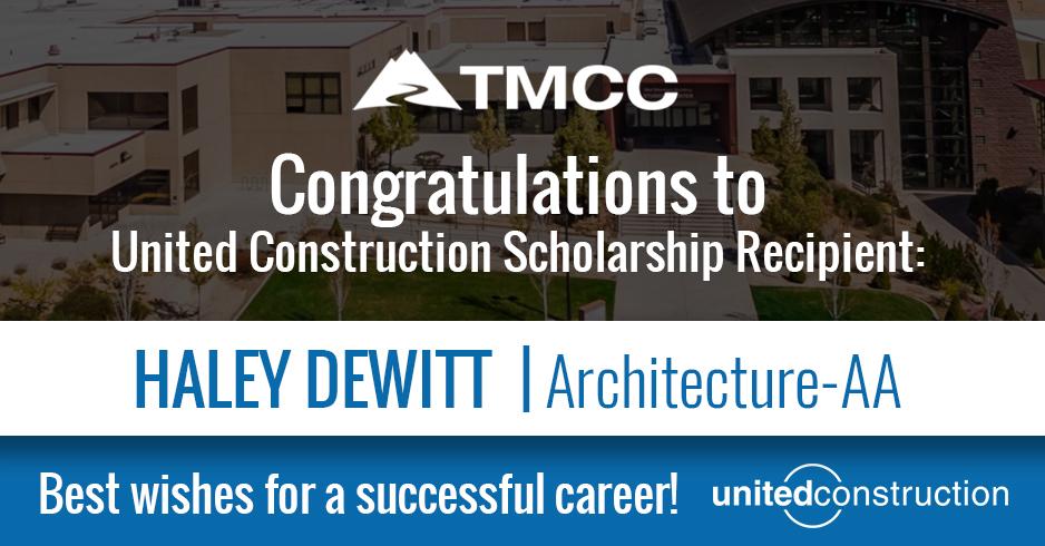 Congrats Haley DeWitt